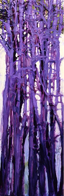 Tree Squeeze, Study #16 - 36x12