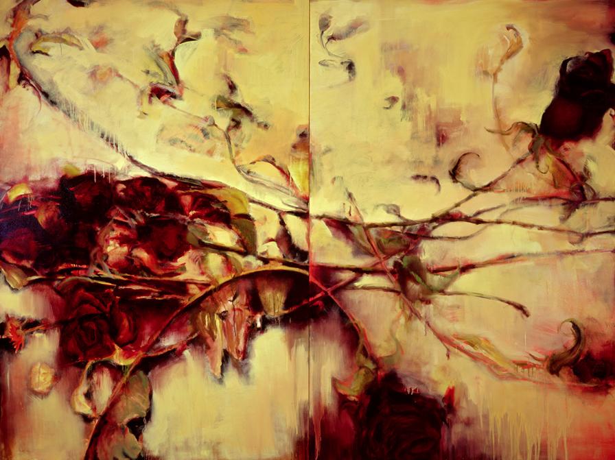 Dried Roses III - 72x96