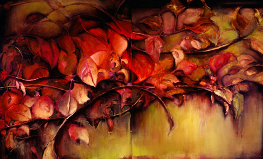 Sprigs of Autumn - 66x108