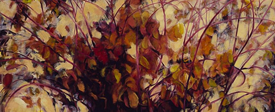 Red Twig Dogwood II - 30x72 Sold