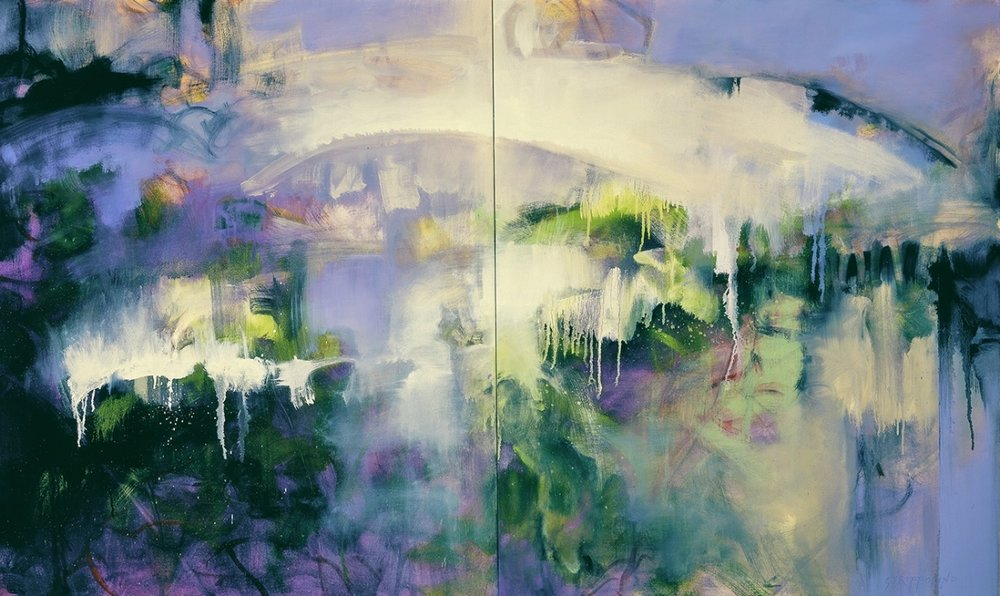 Garden Reflection #16 - 38x64