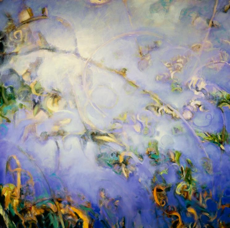 Garden Reflection #5 - 60x60