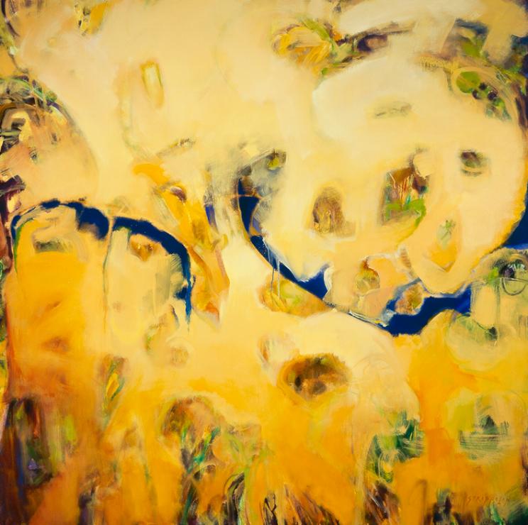 Garden Reflection #6 - 60x60