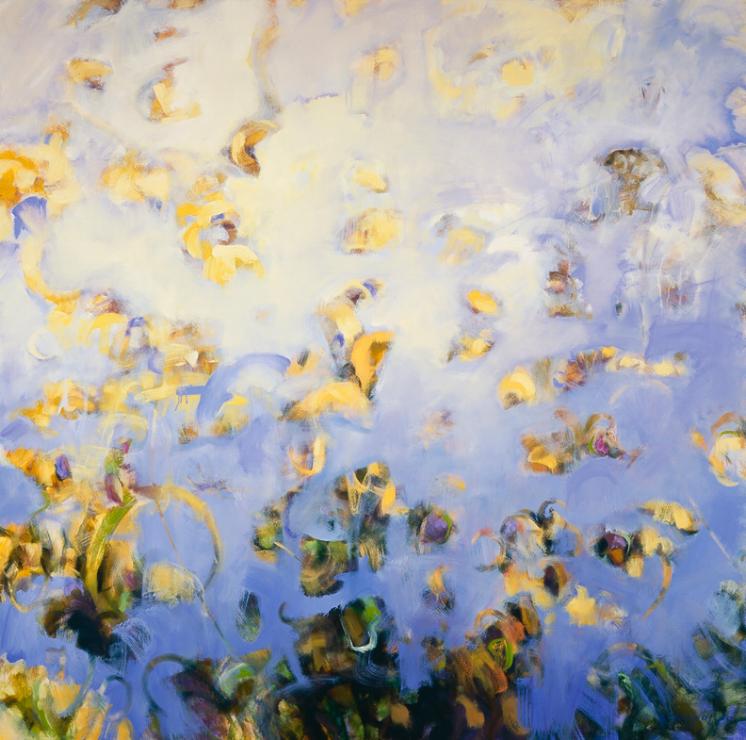 Garden Reflection #4 - 60x60