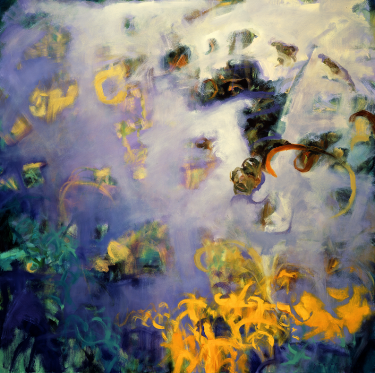 Garden Reflection II - 48x48