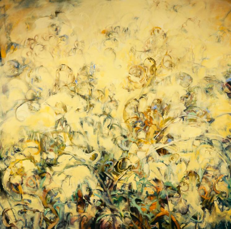 Garden Reflection - 72x72