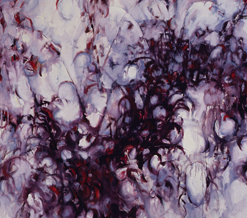 Sand Cherry and Snow - 48x54