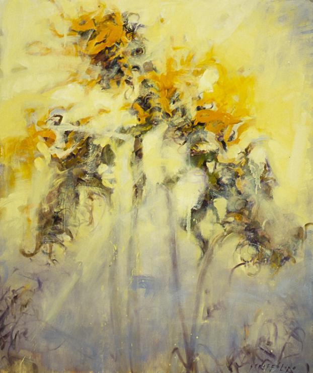 Sunflower Study - 38x32