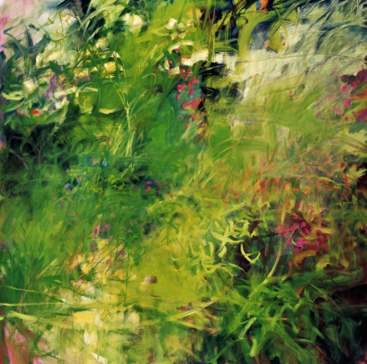 Flowering Meadow - 48x48 Sold
