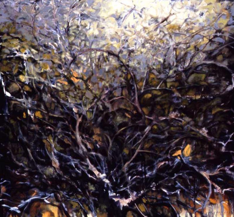 Winter Fruit Trees - 56x60