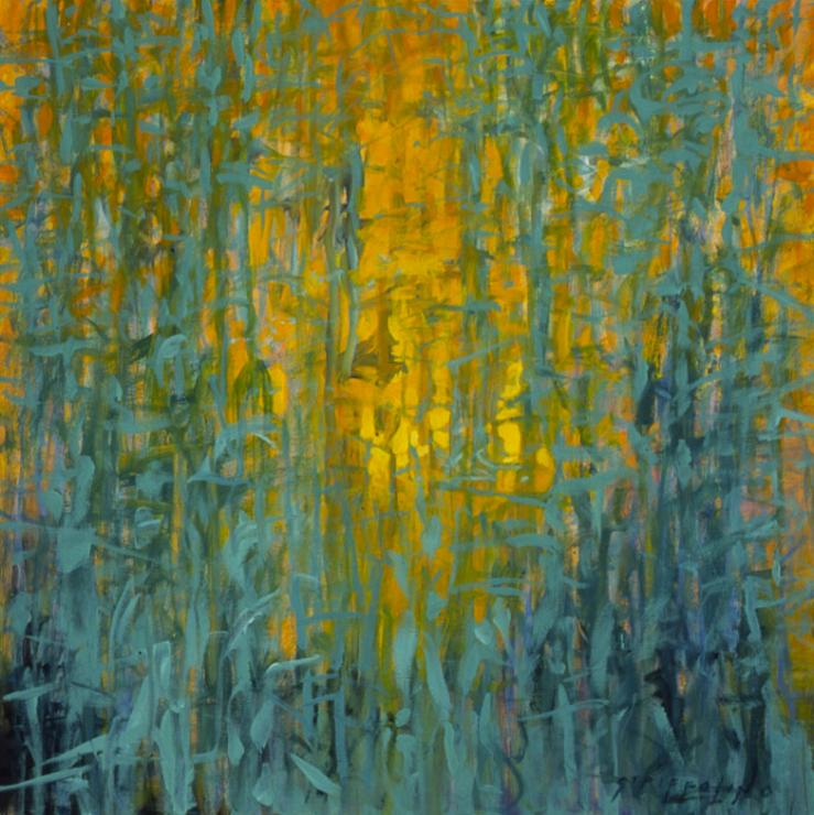 Tree Quilt Study - 18x18