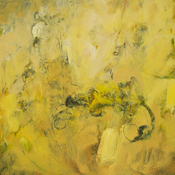 Yarrow and Grass Study - 18x18