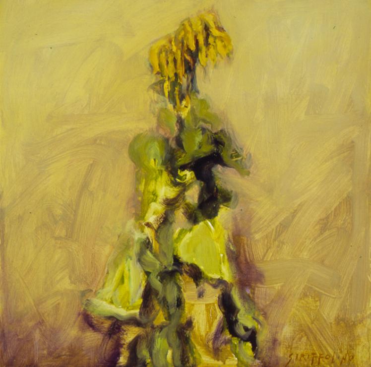 Sunflower In Field - 18x18