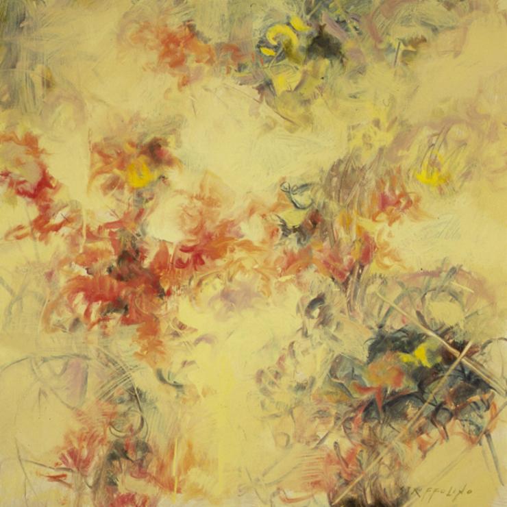 Desert Flower Study - 24x24