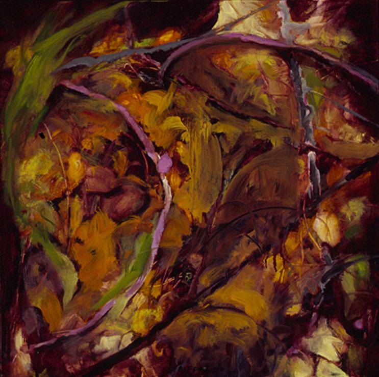 Vestige of Summer, Study - 18x18 Sold