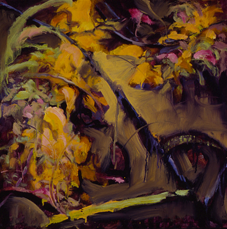 Vestige of Summer II, Study - 18x18 Sold