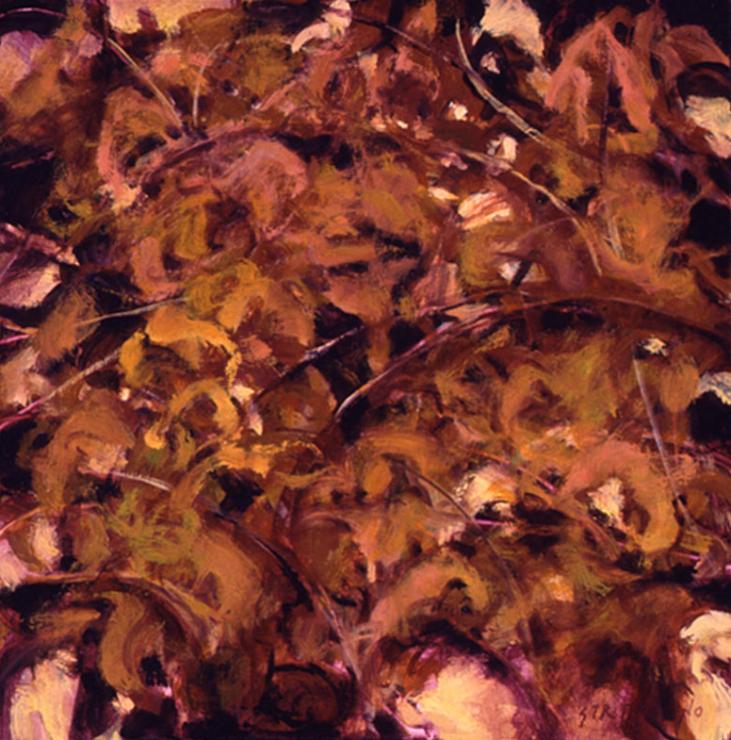Vine Study - 16x16