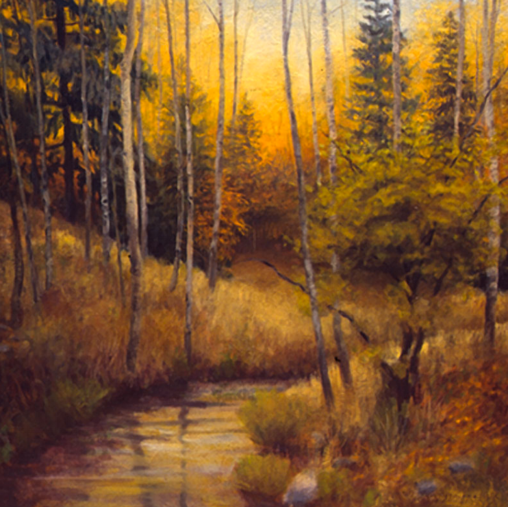 Upper Tesuque Creek II - 60x60