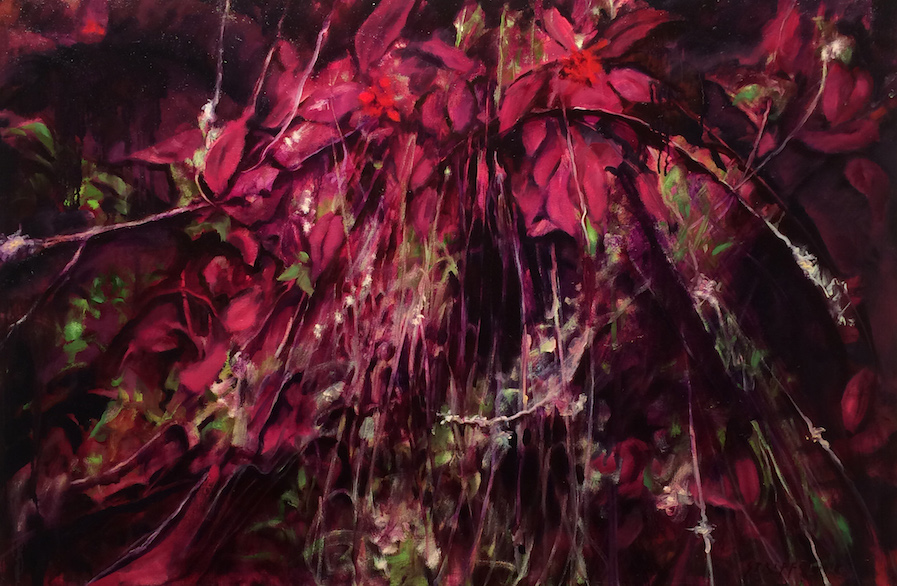 Trails of Baby's Breath - 32x48