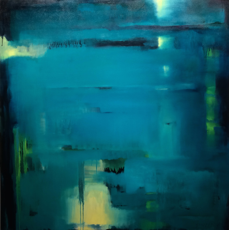 Waterscape #42 - 56x56