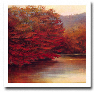 RIVERSIDE MAPLES Image: 36 x 36, Paper: 40 x 40
