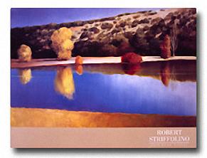 POND BELOW TRUCHAS Image: 19.75 x 31.5, Paper: 23.5 x 31.5