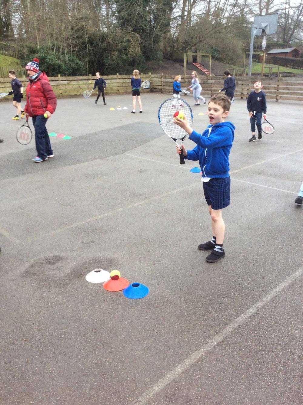 Sarah Jones Tennis Coaching