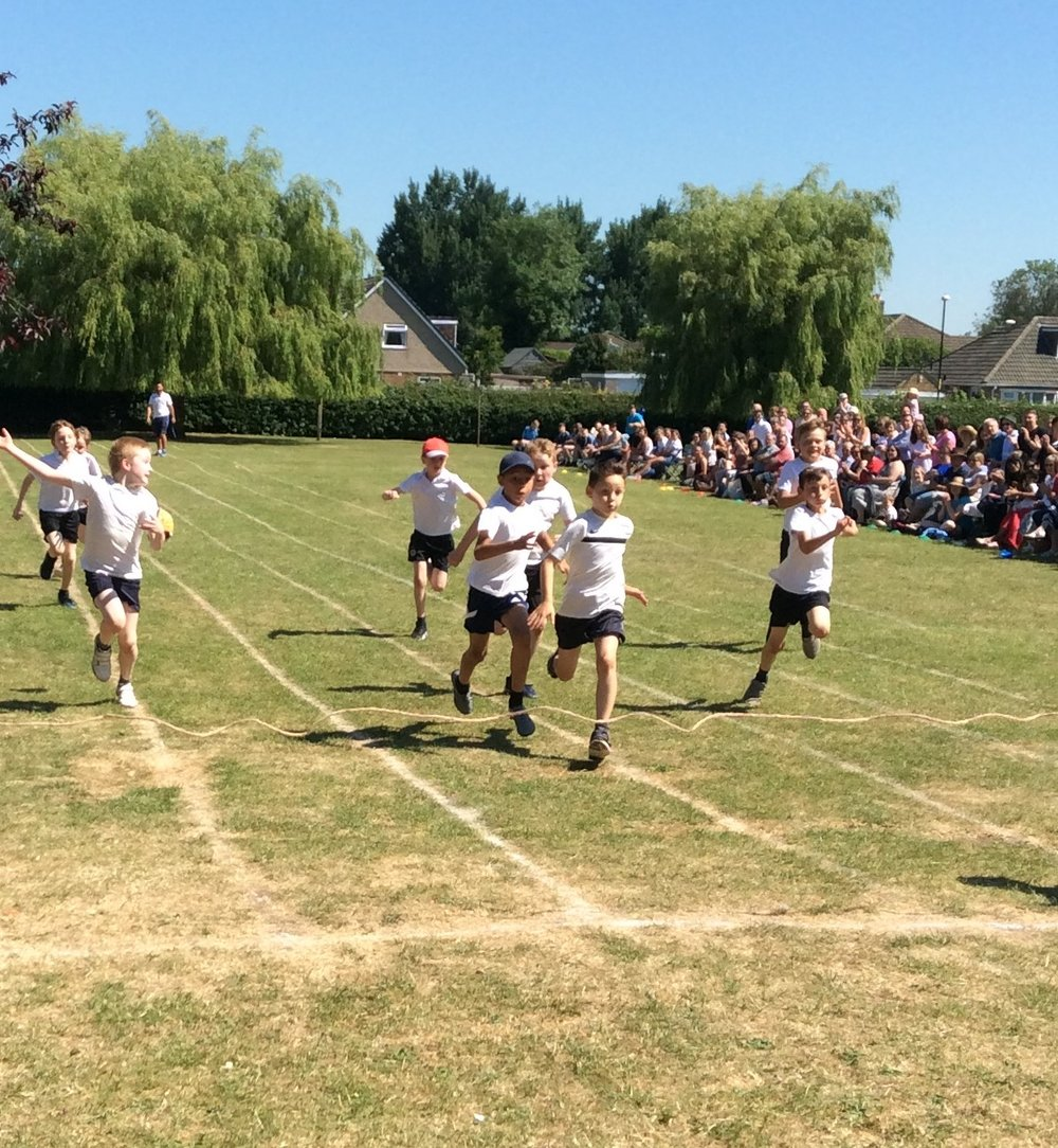 Races at Sports Day