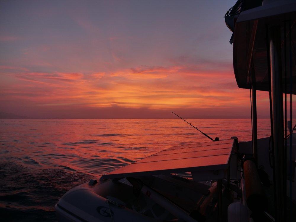 Fisherman's delight,  at sea,Ibiza to Menorca