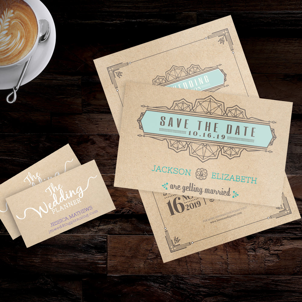 Brown Kraft Cards - For a homegrown, personalized touch! Thick, rich, light brown kraft paper has natural fibers and subtle visible flecks to give Kraft Cards an organic look and feel. The stock is 30% recycled lending to its rustic, eco-friendly appeal.