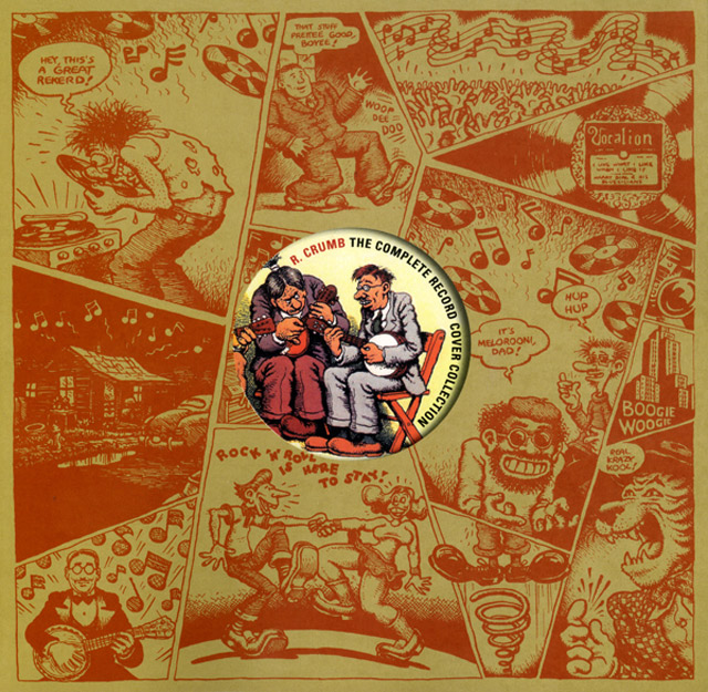 The complete record cover collection - by R. Crumb