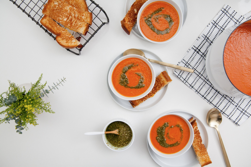 Creamy Roasted Tomato Soup — The Food Artist