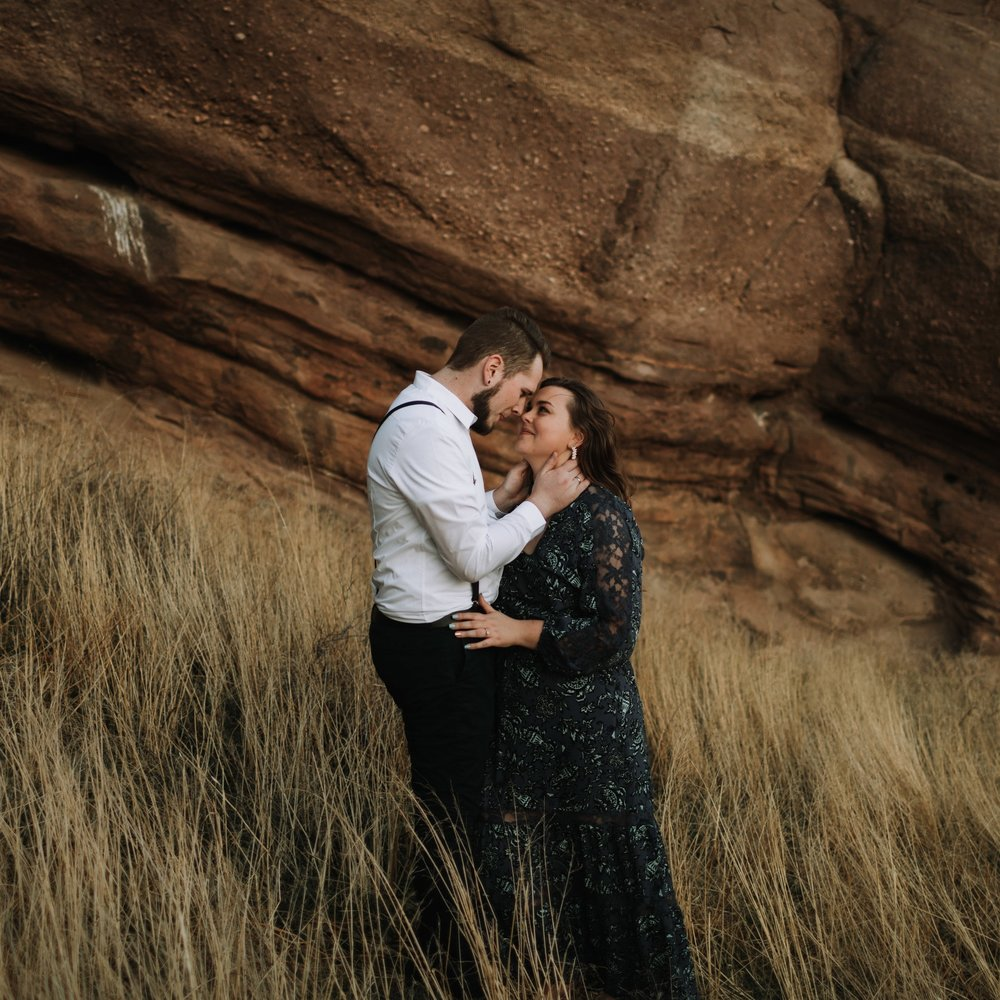 Zachary + Chelsea | Engagement Session | Vasquez Rocks, CA