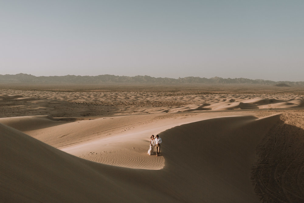 imperial sand dunes destination styled elopement morocco