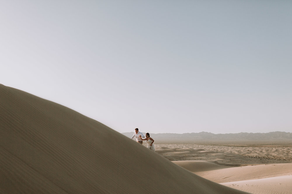 imperial sand dunes destination styled elopement