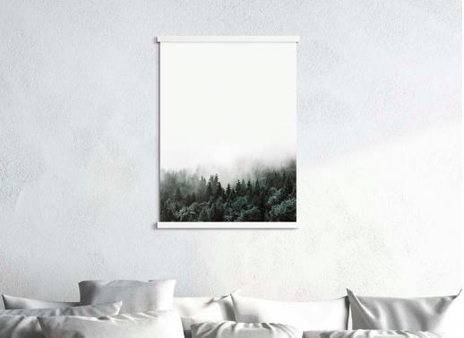 Magnetic poster hanging frame — LISA VALENTINE HOME