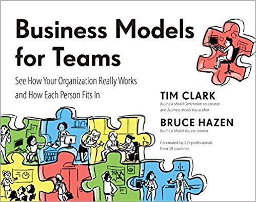 Business Models for Teams by Tim Clark & Bruce Hazen - Are you frustrated by...• Explaining and re-explaining what people on your team should do?• Solving problems that others should be able to solve for themselves?• Supervising and micromanaging, rather than strategizing and leading?Business Models for Teams will help you overcome these problems. It applies the same simple visual tools that made Business Model Generation and Business Model You so popular and successful around the world. In fact, this book may be the last teamwork toolkit you will ever need!