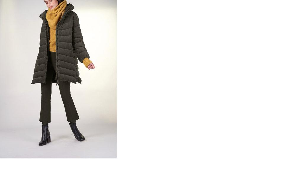 jacket FEN 27107-03 | jumper TILLY 27505-09 | pants RIX 27120-03 | scarf TIAM 27505-09