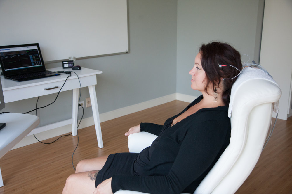 Portland Neurofeedback Session
