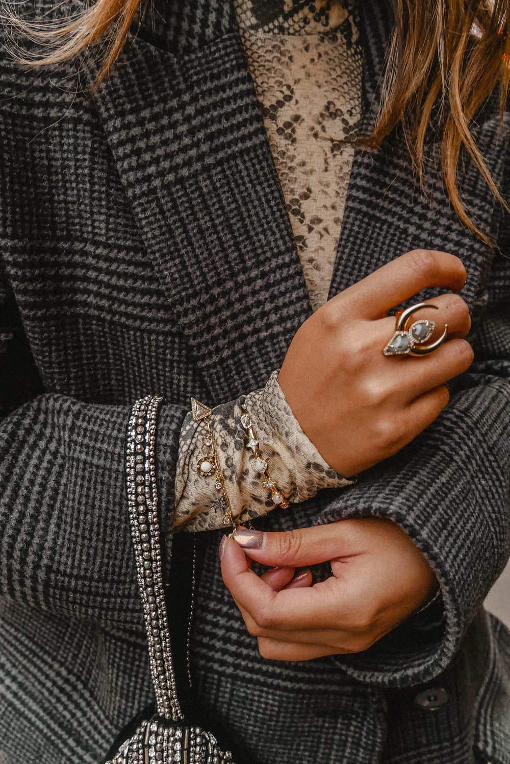 'Accessorising is my favourite part of putting together any outfit. From a statement bag to a bold piece of jewellery - it can elevate any outfit -