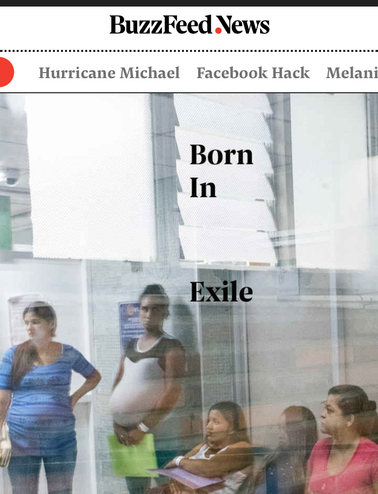 Buzzfeed Born in Exile Webpage