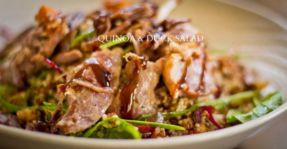 duck-frites-quinoa-duck-salad