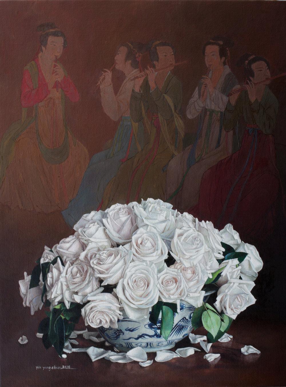 Flowers  30 x 40  2016
