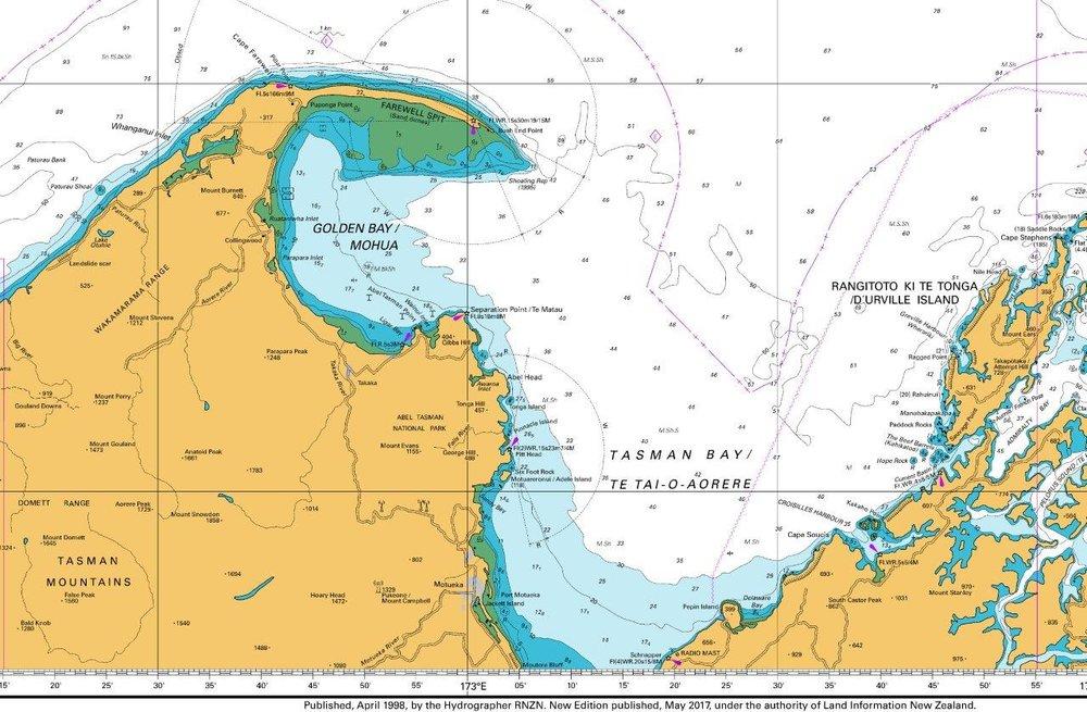 Maps & Charts — Port Tarakohe Services LTD.