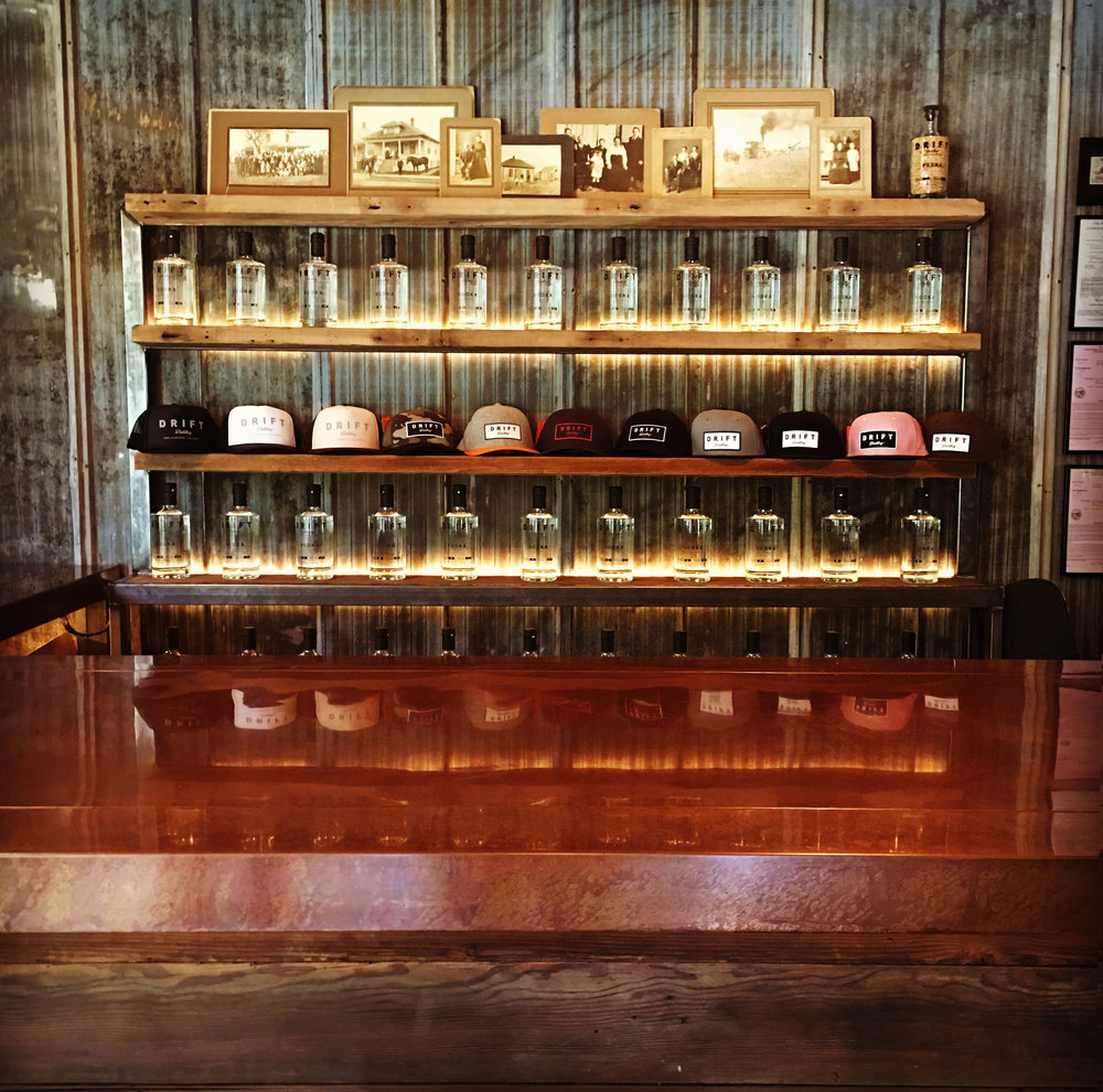Stop by our one of a kind tasting room and sample some of our spirits. Plus you can purchase up to 3 bottles per person per day!