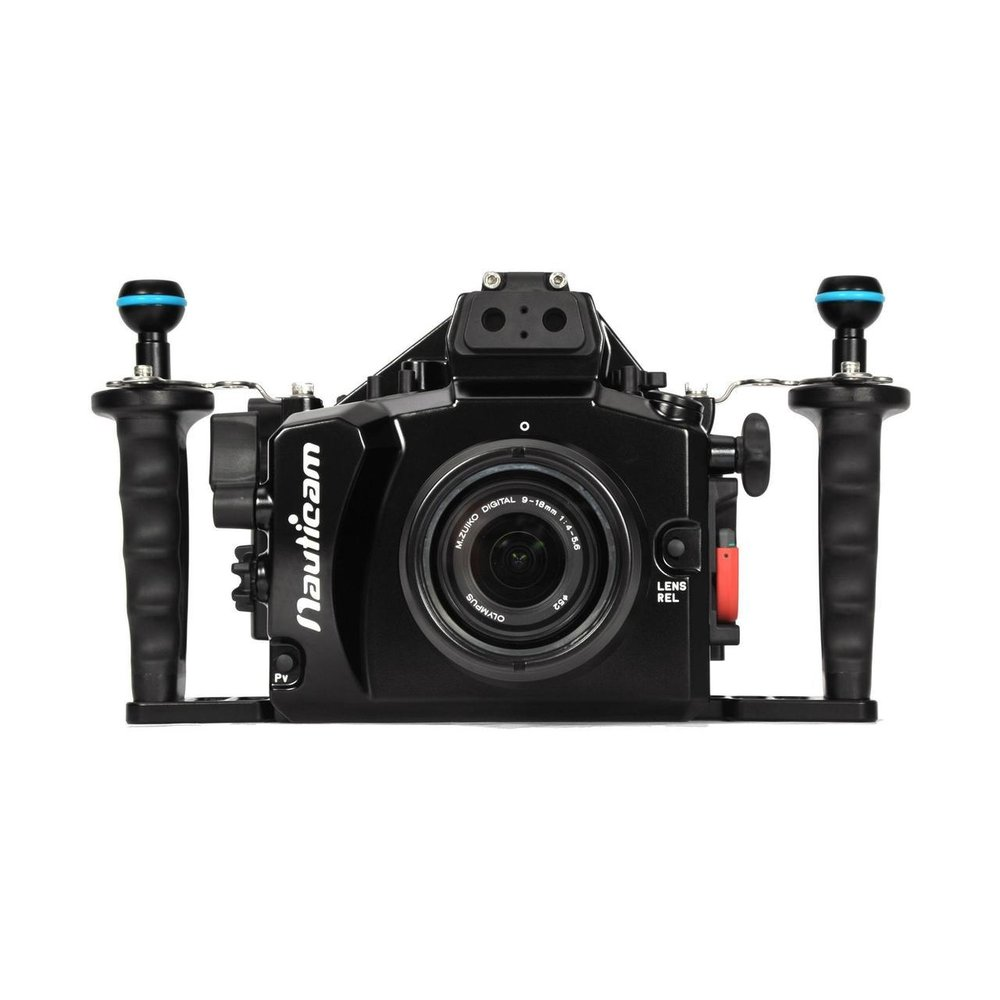 Nauticam housings for Mirrorless and DSLR cameras are supported by a broad range of lens ports