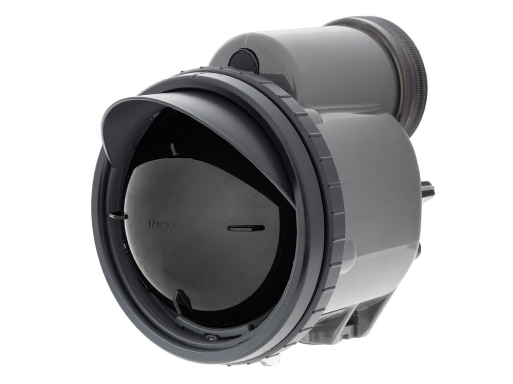 This is the INON Z330 strobe fitted with an ND filter it reduces the strobe output to give you the equivalent of having extra power settings below it's normal lowest.