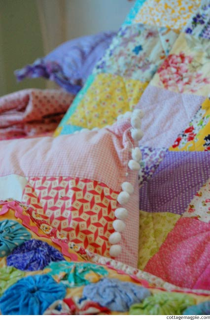 A Collection for Baby Girl's Room via cottagemagpie.com