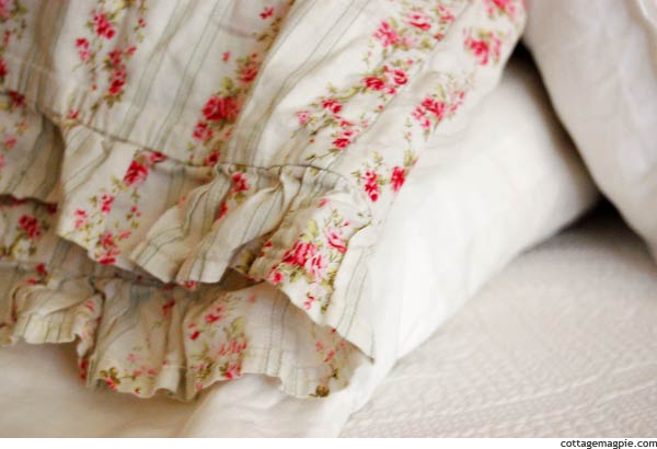 Ruffled Pillowcase