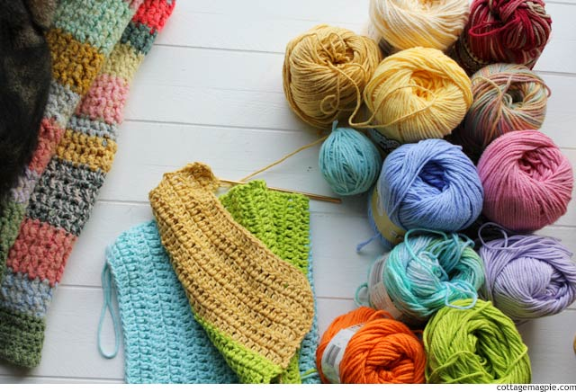 A New Crochet Project via cottagemagpie.com
